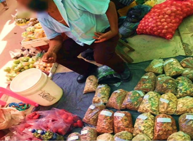Herbal Vendor in San Ignacio 2